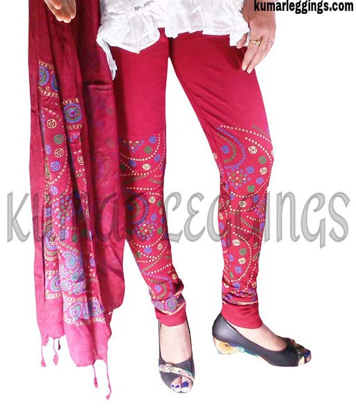 Block Printed Leggings & Dupatta 06