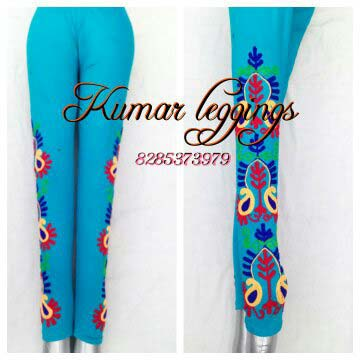 Embroidered Legging 01