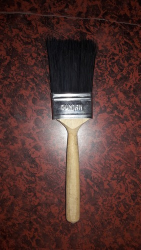 Black Hair Bristle Wall Paint Brush
