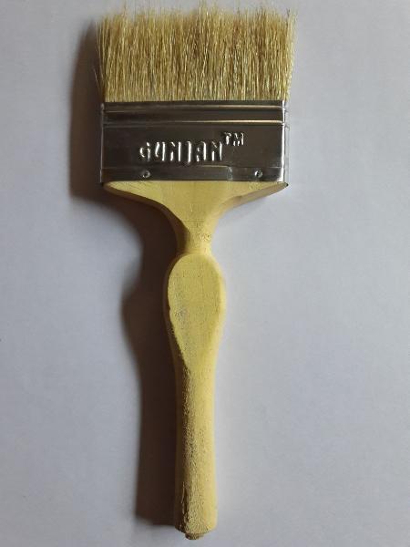Golden Imported Hair FRP Brush