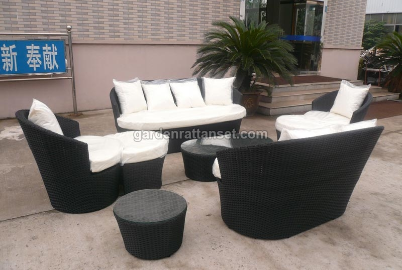 Attractive High Back Patio Furniture