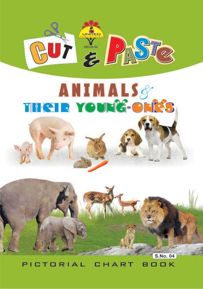 Small Cut & Paste Animal Stickers