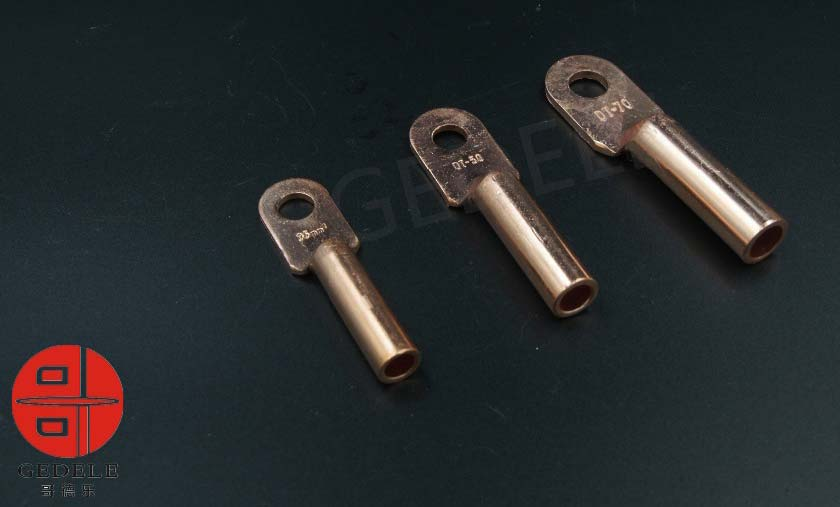 Metal pipe clamp ring terminal lugs copper cable supplier