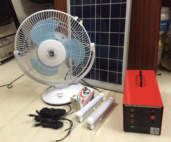 Solar Home Lighting System A