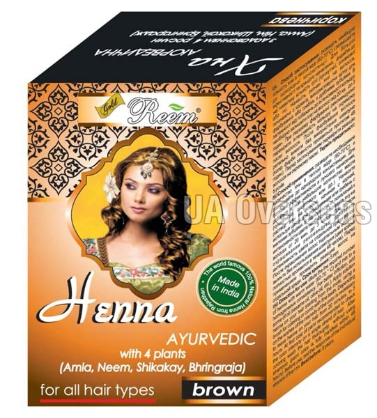 Ayurvedic Brown Hair Mehndi