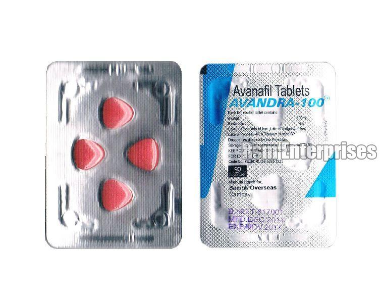 Avanafil 100 mg Tablets