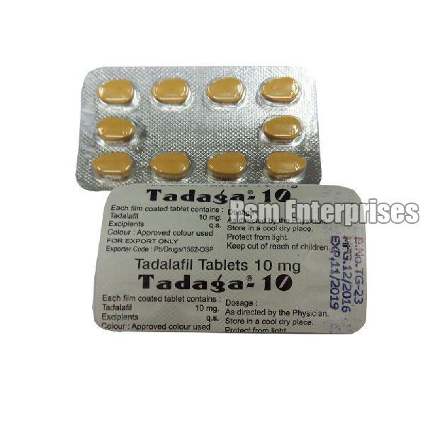 Tadaga 10 Tablets