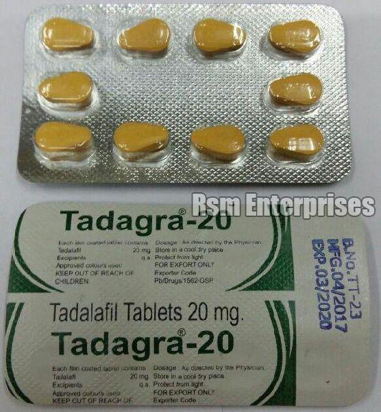 Tadagra 20 mg Tablets