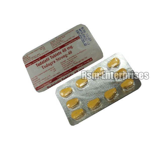Tadagra Strong 40 mg Tablets