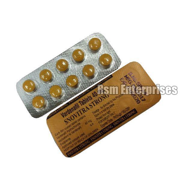 Vardenafil 40mg Tablets