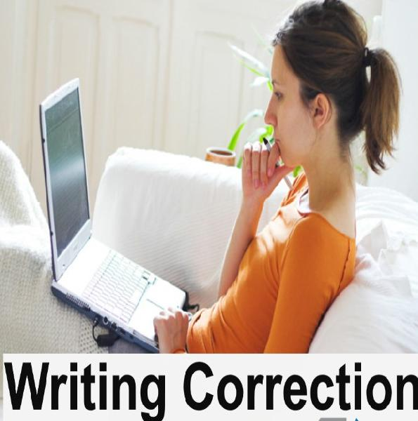 Essay writing correction online