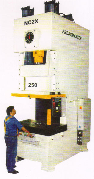 Single Point C Frame Press Machine (NC2X Series)
