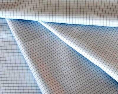 Anti Static Fabric Check Grid Design 01