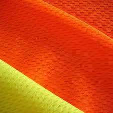 Fluorescent High Visibility Fabric