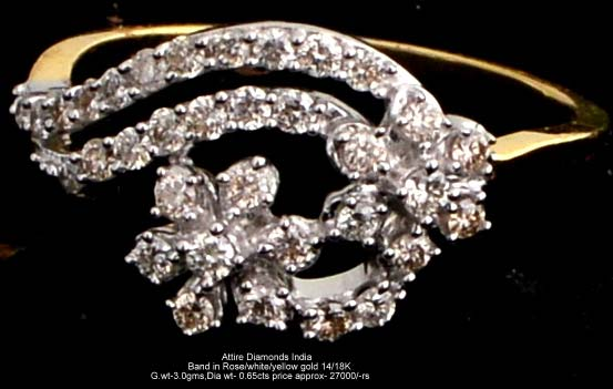 Ladies Light Weight Diamond Rings