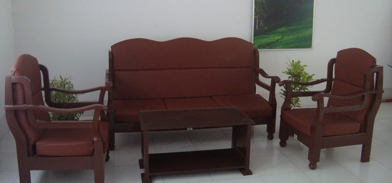 Rubber Wood Sofa SetRubber Wood Frame Sofa Set Manufacturers in