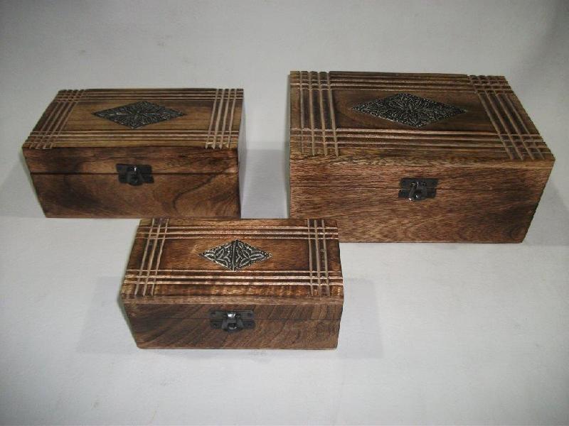 Wooden Boxe 01