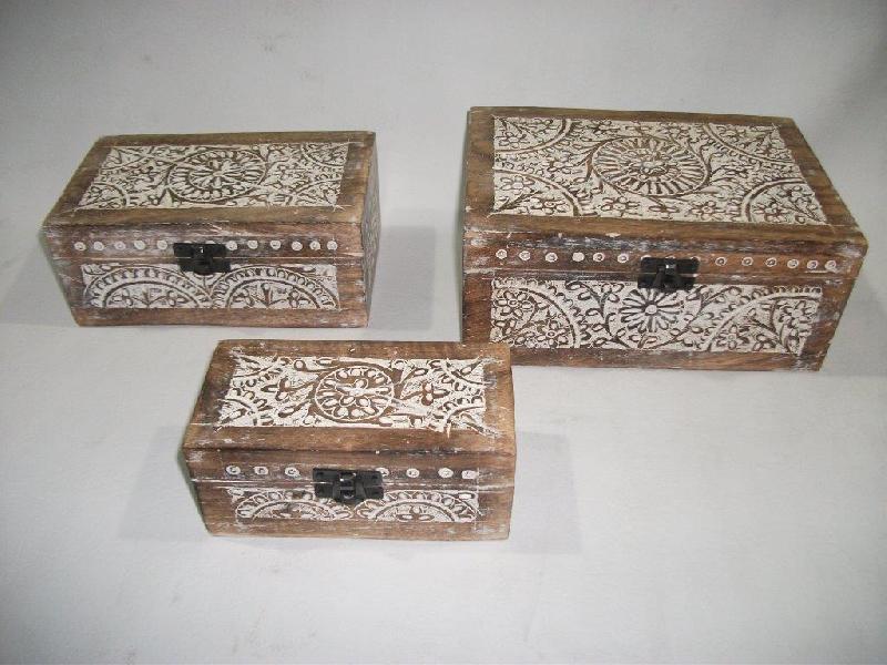 Wooden Boxe 02