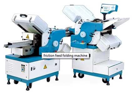 Friction Feed Folding Machine (XP-BF412+BFC412)