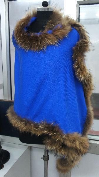 Mexico Hot Style Genuine Rabbit Fur Shawls/Scarfs