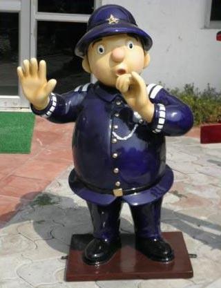Mr Plod Sculpture Mr Plod Statue Cartoon Sculpture
