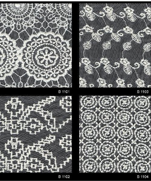Schiffli Embroidered Fabric 01