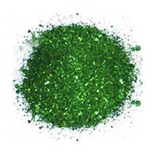 Where does the malachite green dye come from?