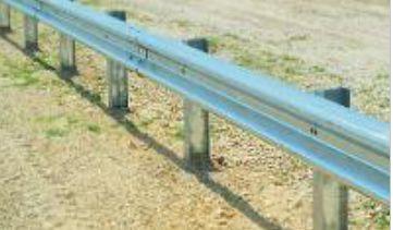 Metal Beam Crash Barrier