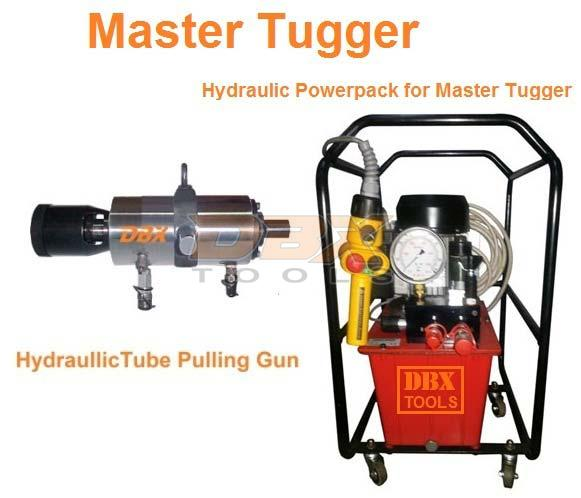 Hydraulic Pullers Manufacturers In India : Master tugger hydraulic tube puller manufacturers suppliers
