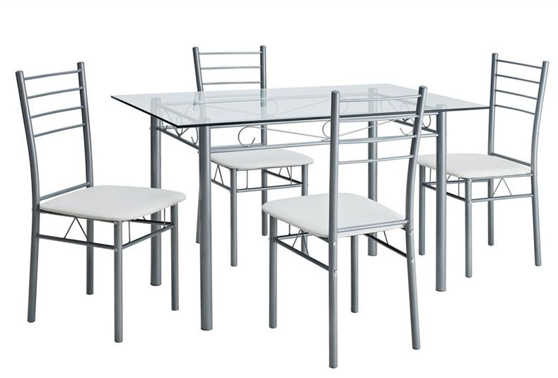 Delicieux Steel Dining Table Set 01 ... Part 13