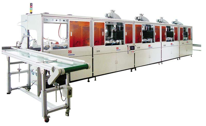 (S350) Automatic buckets screen printing machine