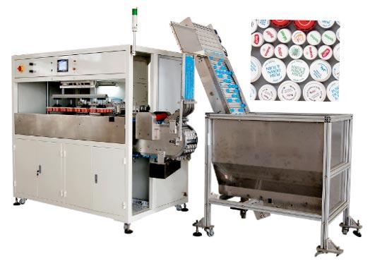 (CMT88)1-4 colors automatic caps print master