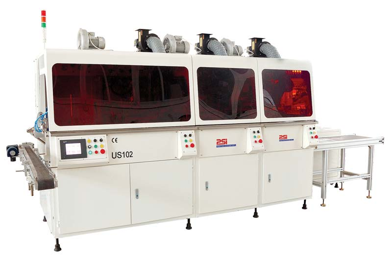 (US102) Automatic multi-color screen printing line