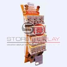Biscuit Cardboard Display Stand
