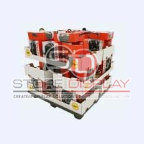 Cardboard Tray Display Stand