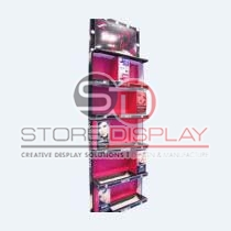 Cosmetic Product Sidekick Cardboard Display Stand