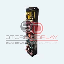 Hair Care Product Sidekick Cardboard Display Stand