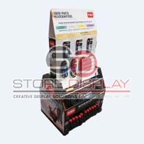 Promotion Corrugated Cardboard Display Stand