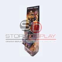 Store Merchandising Floor Display Stand