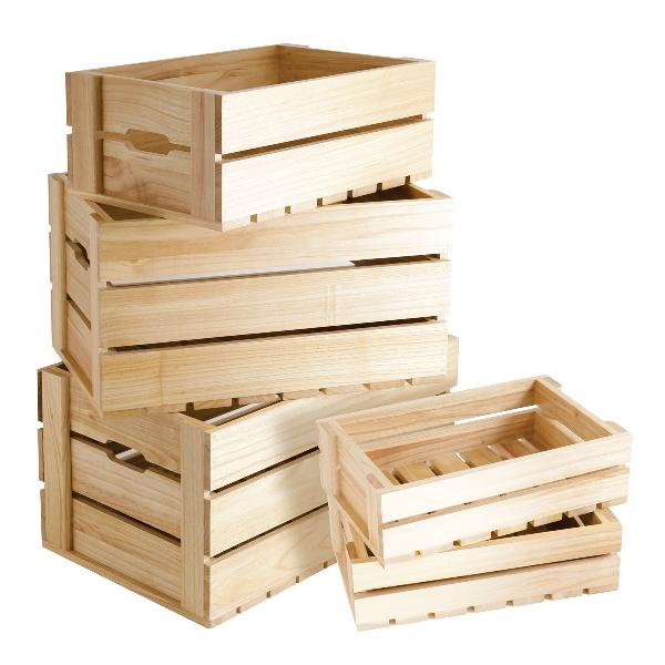 Wooden Boxes & Crates 01
