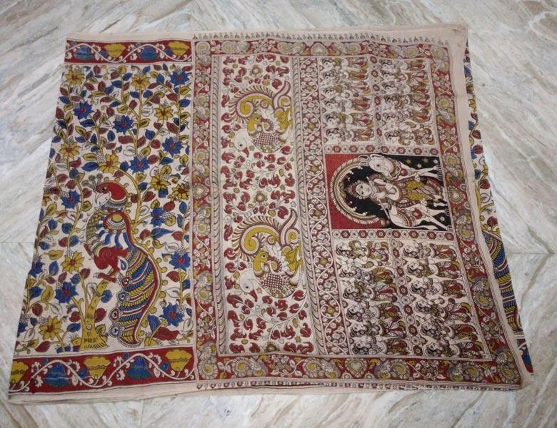 Kalamkari Cotton Saree 01