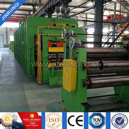 Conveyor Belt Press Machine