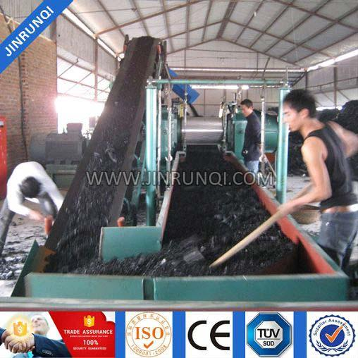 Waste Tire Recycling & Rubber Radial Tyre Recycling Line