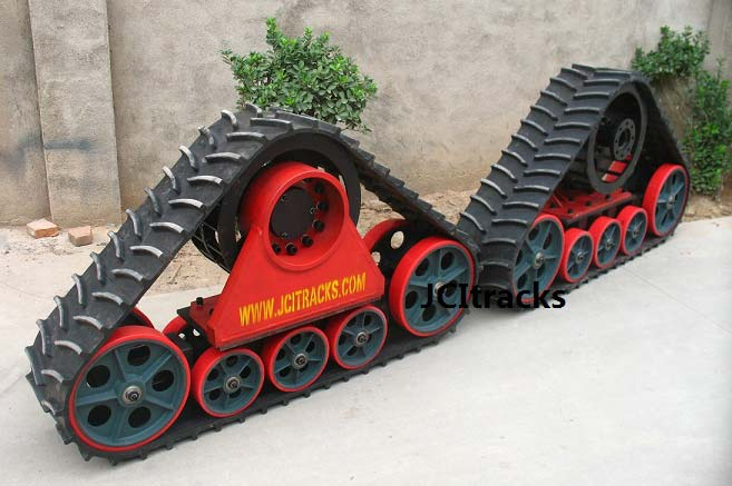 Tractor Track System : Tractor rubber tracks manufacturer