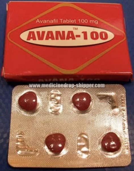 Avanafil 100mg Tablets