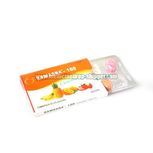 Kamagra-100 Chewable Tablets