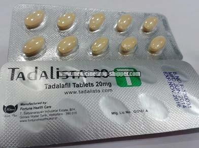 Tadalista 20mg Tablets
