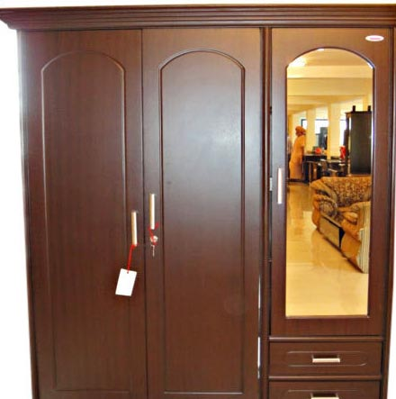 Wooden home furniture wooden almirah home furniture supplier for Pics of wooden almirah