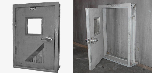 Lead Lined Hollow Metal Doors Manufacturer Supplier In