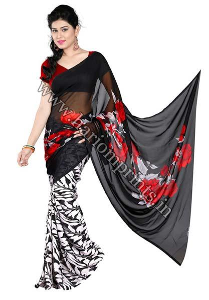 Synthetic Sarees 04